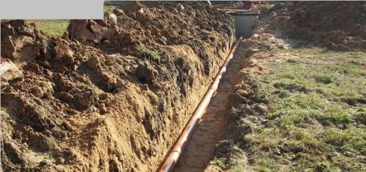 Уклон канализации