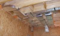 Вентиляционный зазор каркасного дома