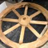 Изготовление деревянного колеса от телеги