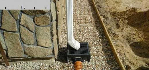 Как сделать ливневую канализацию?