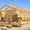 Как построить баню из сруба