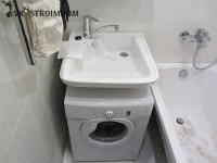 Установка раковины над стиральной машиной: выбор оборудования и технология монтажа
