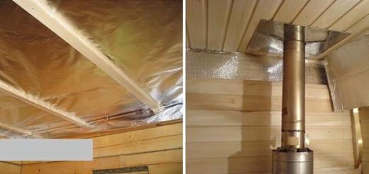 Утепление бани: стены, пол и потолок