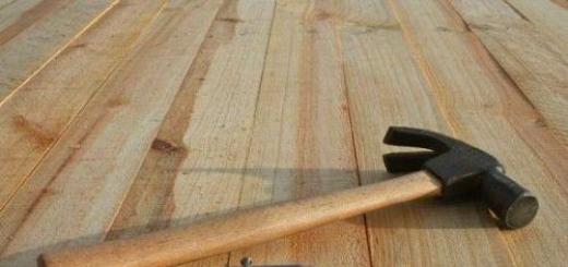 Как сделать деревянный пол?