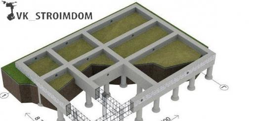 Свайный фундамент для дома