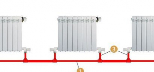 Система отопления дома «ленинградка»