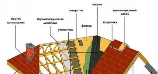Виды крыш домов