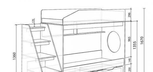 Делимся инструкцией по изготовлению удобной двухъярусной детской кроватки