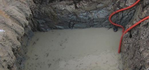 Строим погреб на участке с высоким уровнем грунтовых вод